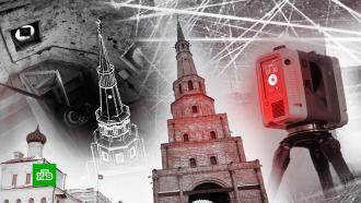 В Казани пытаются спасти от обрушения древнюю «падающую башню»