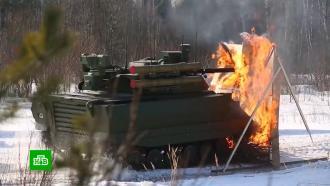 Россия показала многофункционального боевого робота