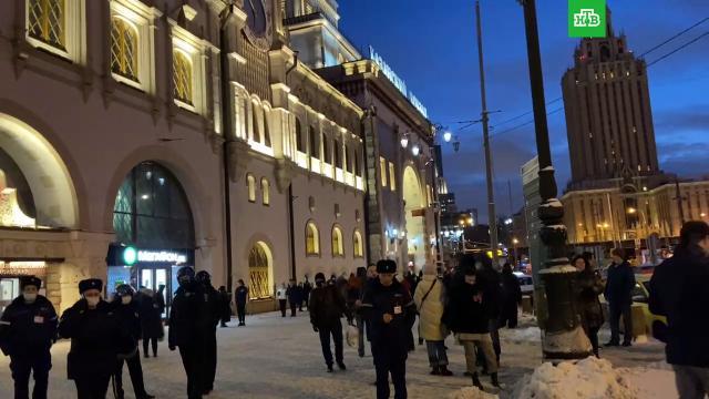 Оппозиция объявила об окончании акции вМоскве.Москва, Навальный, митинги и протесты, оппозиция.НТВ.Ru: новости, видео, программы телеканала НТВ