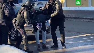 Более 100человек задержаны врайоне Мосгорсуда