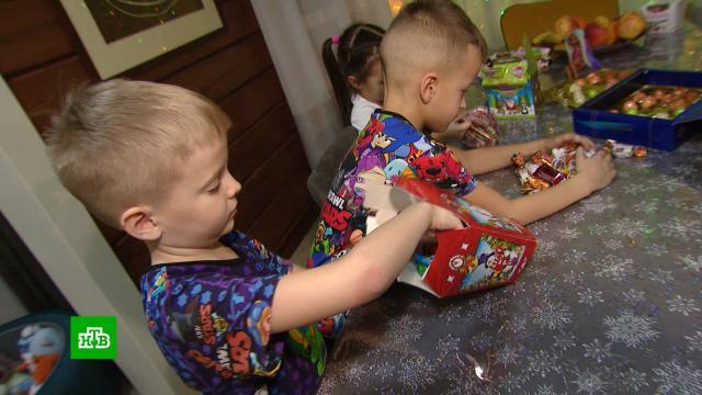 Красноярские медики отказались от сладких подарков детям на Новый год