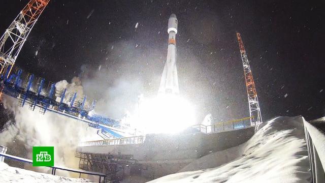 Ракета-носитель «Союз-2» вывела на орбиту военный спутник.армия и флот РФ, запуски ракет, космос, ракеты, спутники, Минобороны РФ.НТВ.Ru: новости, видео, программы телеканала НТВ