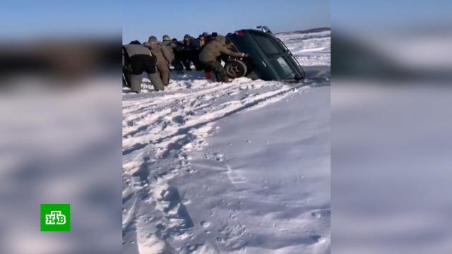 В Приморье за зиму под лед ушел целый автопарк.охота и рыбалка, Приморье.НТВ.Ru: новости, видео, программы телеканала НТВ