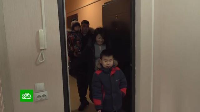 ВИркутской области семьи железнодорожников получили новые квартиры.Иркутская область, РЖД, жилье, наводнения.НТВ.Ru: новости, видео, программы телеканала НТВ