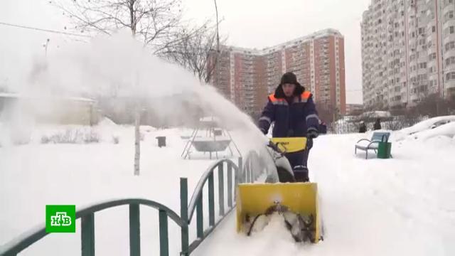 Московские коммунальщики готовятся к 30-градусным морозам.Москва, зима, морозы, погода.НТВ.Ru: новости, видео, программы телеканала НТВ