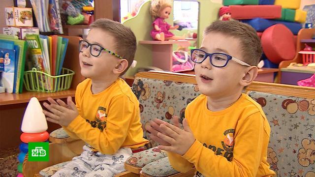 Страдающим ДЦП четырехлетним близнецам Ване иАнтону нужна помощь.SOS, благотворительность, болезни, дети и подростки, здоровье.НТВ.Ru: новости, видео, программы телеканала НТВ