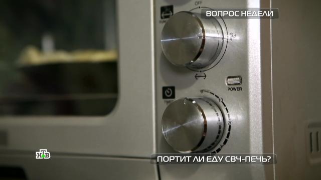 Портитли еду СВЧ-печь?НТВ.Ru: новости, видео, программы телеканала НТВ