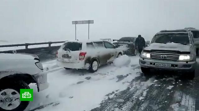 Москвичам пообещали снежный коллапс.зима, погода, погодные аномалии, прогноз погоды, Москва.НТВ.Ru: новости, видео, программы телеканала НТВ