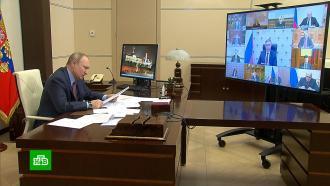 Путин раскритиковал госслужбы за «игры» сзарплатами бюджетников