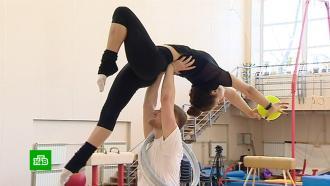 Петербургскую художественную гимнастику уверенно покоряют мужчины