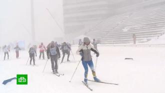 Более миллиона человек приняли участие в«Лыжне России»
