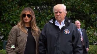 «Меланья умеет бороться»: на фоне импичмента вновь поползли слухи о разводе Трампов.НТВ.Ru: новости, видео, программы телеканала НТВ