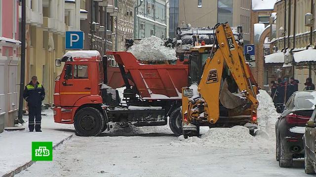 Москва пережила два рекордно снежных дня.Москва, зима, погода, погодные аномалии, снег.НТВ.Ru: новости, видео, программы телеканала НТВ