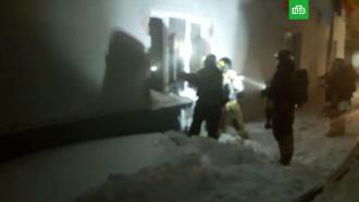 Пожар вмосковском хостеле