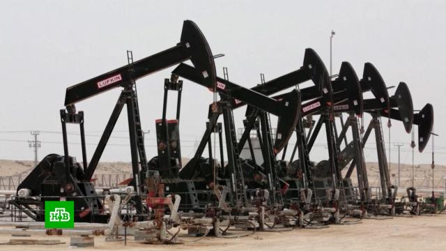 Стоимость нефти Brent превысила $63впервые сянваря 2020года.Саудовская Аравия, валюта, доллар, нефть.НТВ.Ru: новости, видео, программы телеканала НТВ