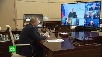 Путин призвал лидеров думских фракций к сплоченности перед выборами
