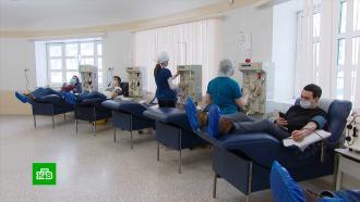 Переболевшие <nobr>COVID-19</nobr> пациенты сдают плазму для спасения чужих жизней