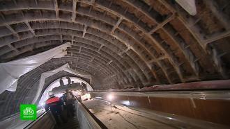 ВПетербурге показали, как идет капитальный ремонт станции метро «Маяковская»