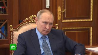 Чиханчин рассказал Путину о борьбе с псевдоброкерами и криптомошенниками