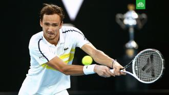 Даниил Медведев впервые вкарьере вышел вфинал Australian Open