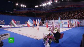 ВМоскве стартовал международный турнир по художественной гимнастике