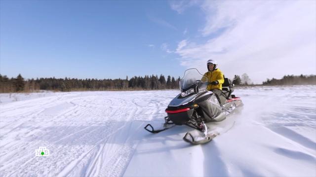 «Мотособаки»: технологичные снегоходы нового поколения.НТВ.Ru: новости, видео, программы телеканала НТВ