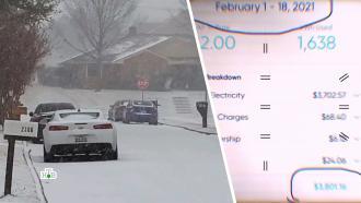 Жители Техаса за неделю морозов сожгли годовой бюджет на электроэнергию