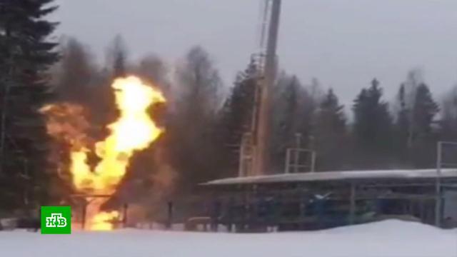 На Урале после аварии на газопроводе тысячи домов в30-градусный мороз остались без тепла.Свердловская область, газ, газопровод.НТВ.Ru: новости, видео, программы телеканала НТВ