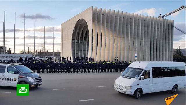 ВГрузии арестовали главу партии Саакашвили.Грузия, Саакашвили, задержание.НТВ.Ru: новости, видео, программы телеканала НТВ