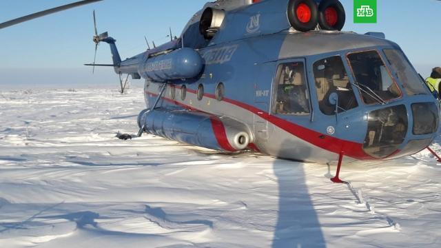ВКрасноярском крае вертолет Ми-8 спассажирами совершил вынужденную посадку.Красноярский край, авиационные катастрофы и происшествия, авиация, вертолеты.НТВ.Ru: новости, видео, программы телеканала НТВ