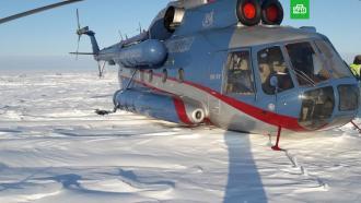 ВКрасноярском крае вертолет <nobr>Ми-8</nobr> спассажирами совершил вынужденную посадку