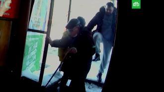 ВКирове мужчина пнул инвалида