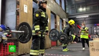 Спасатели Петербурга соревновались вспортивном многоборье