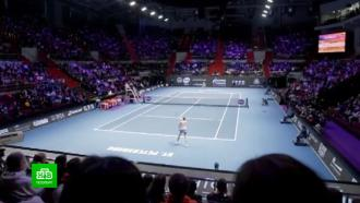 В марте Петербург увидит игру сильнейших теннисисток планеты