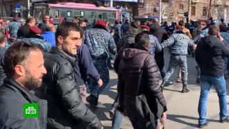 Оппозиция заявила осрыве заседания парламента Армении
