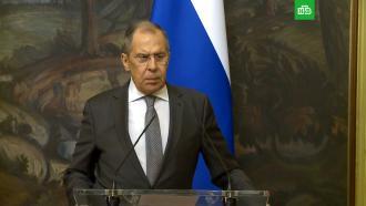 Лавров: США предупредили об ударе по Сирии за 5минут до атаки
