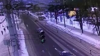 Момент взрыва газа вНижнем Новгороде