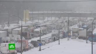 Движение по МКАД грузовиков весом больше 12 тонн ограничат навсегда