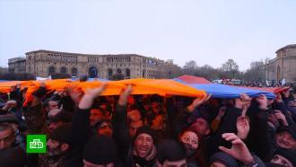 Протестующие вЕреване уверены, что Пашиняну «уже конец»