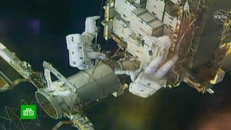 Астронавты NASA завершили семичасовой выход воткрытый космос на МКС