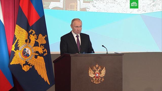 Путин назвал «хорьковыми» цели тех, кто использует детей.Интернет, МВД, Путин, дети и подростки.НТВ.Ru: новости, видео, программы телеканала НТВ