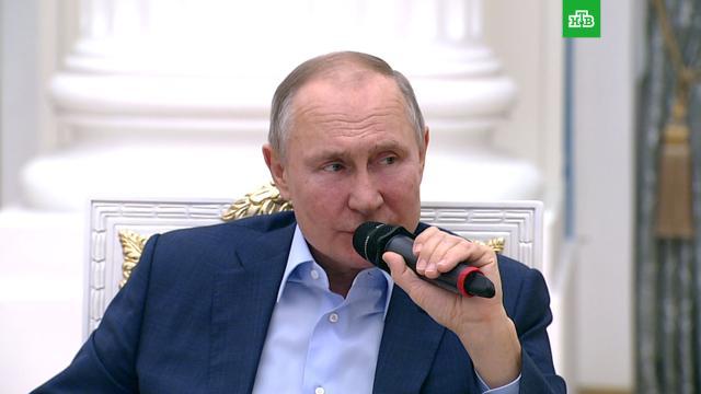 Путин назвал условие формирования популяционного иммунитета.Путин, коронавирус, прививки, эпидемия.НТВ.Ru: новости, видео, программы телеканала НТВ