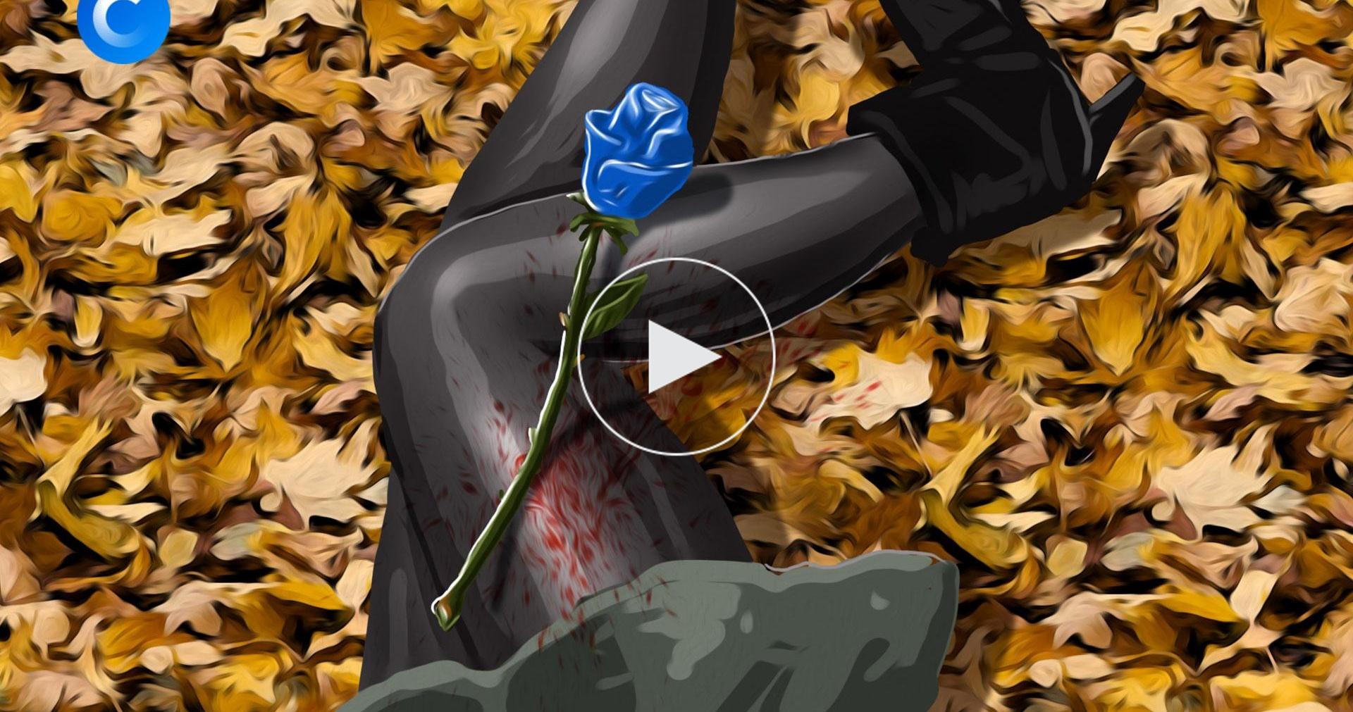 Синяя роза— эмблема убийства