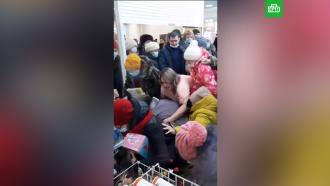 Жители Башкирии устроили давку в магазине из-за мягких игрушек