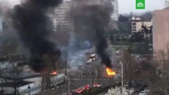 Погромы впригороде Лиона: сожжены десятки машин