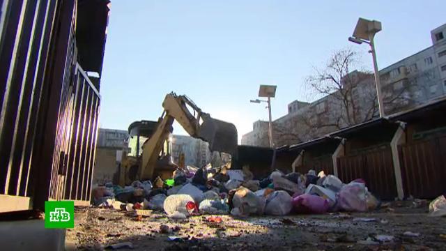 Волонтеры и коммунальщики спасают Махачкалу из «мусорной ямы».Дагестан, ЖКХ, Махачкала, мусор, экология.НТВ.Ru: новости, видео, программы телеканала НТВ