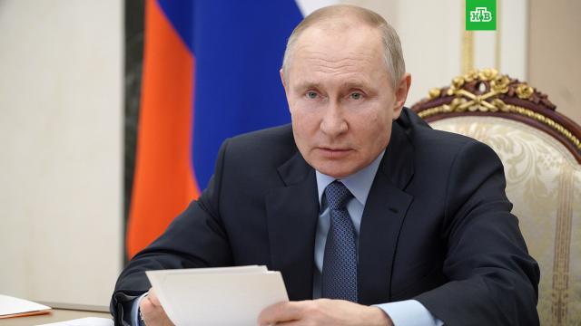 Путин поручил разобраться сзарплатами бюджетников до 20апреля.Путин, зарплаты, правительство РФ, работа.НТВ.Ru: новости, видео, программы телеканала НТВ