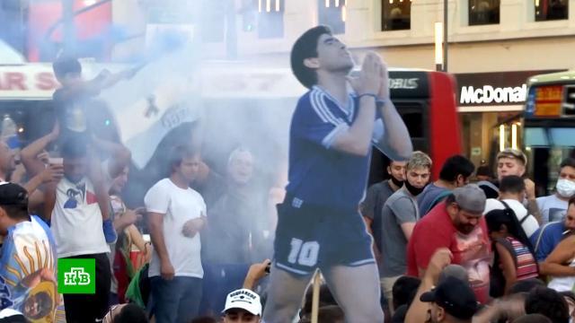 «Диего убили»: сотни аргентинцев потребовали расследования смерти Марадоны.Аргентина, Марадона, митинги и протесты, медицина, расследование, смерть.НТВ.Ru: новости, видео, программы телеканала НТВ
