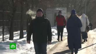 Аномальные мартовские морозы обновили второй рекорд подряд