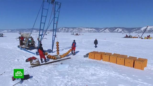На Байкале готовят запуск подводного телескопа для ловли нейтрино